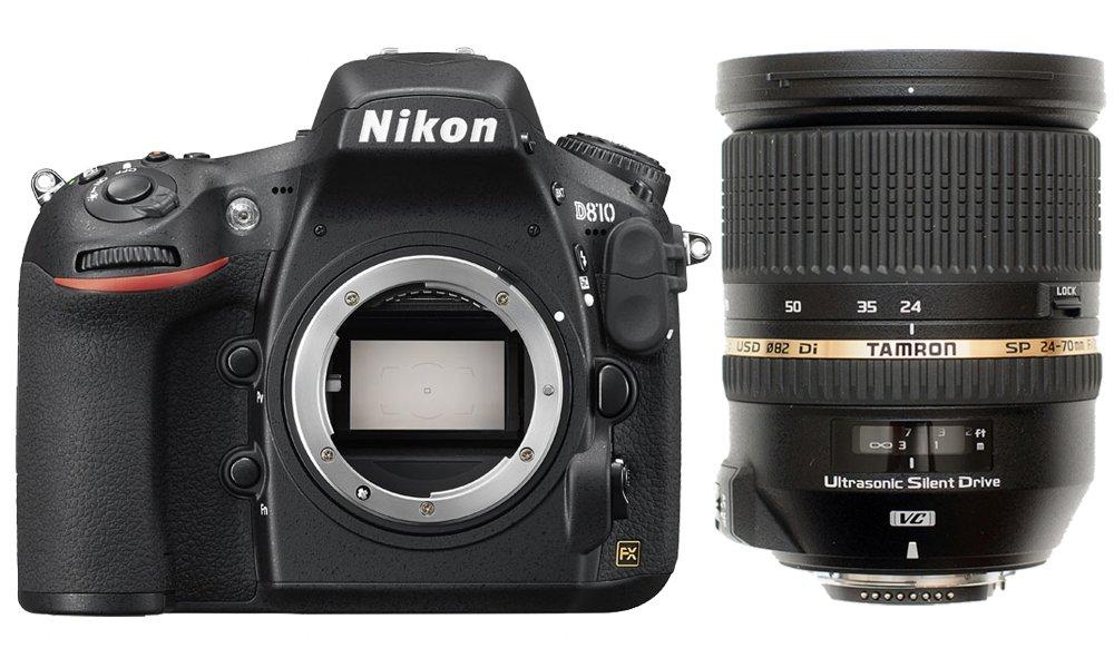 NIKON D810 + TAMRON 24-70 mm VC