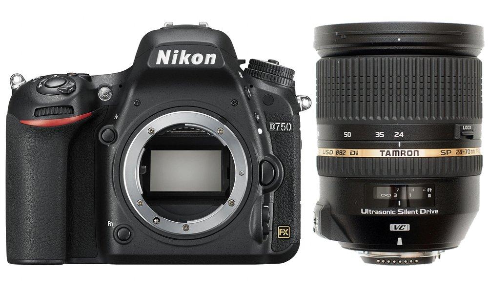 NIKON D750 + TAMRON 24-70 mm VC