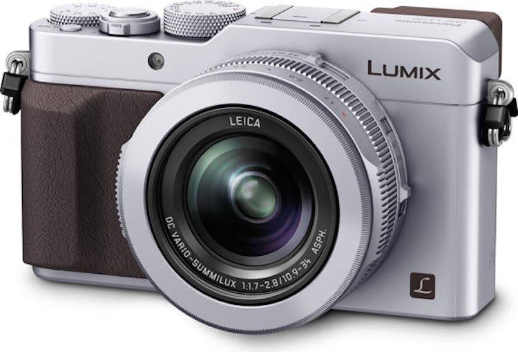 PANASONIC Lumix DMC-LX100 stříbrný + SDHC 16GB + brašna Crumpler ZDARMA