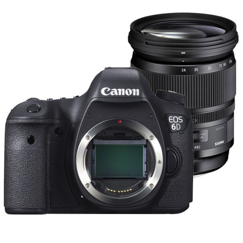 CANON EOS 6D + SIGMA 24-105 mm OS + 50mm + WD 3TB