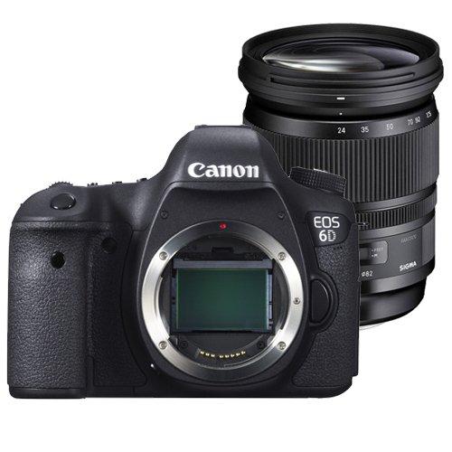 CANON EOS 6D + SIGMA 24-105 mm OS