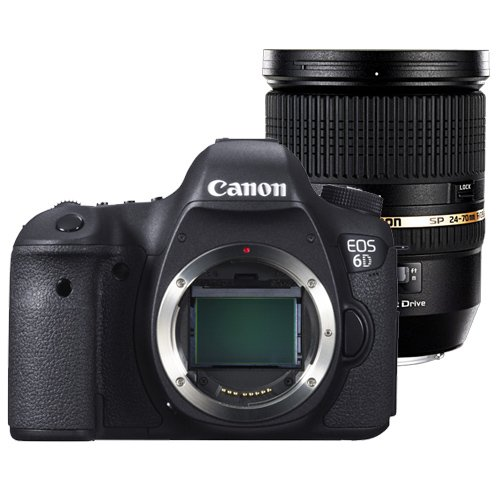 CANON EOS 6D + TAMRON 24-70 mm VC + WD 3TB