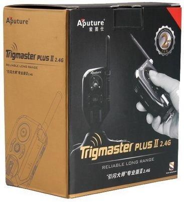 APUTURE spoušť rádiová vysílač/přijímač TrigMaster Plus II sada 1+1