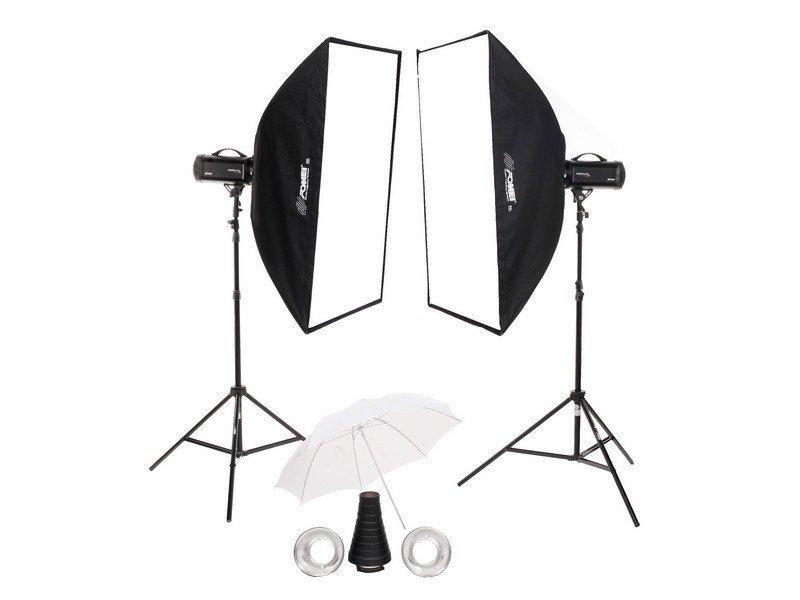 FOMEI Digital Pro X 500/500 kit studiových blesků