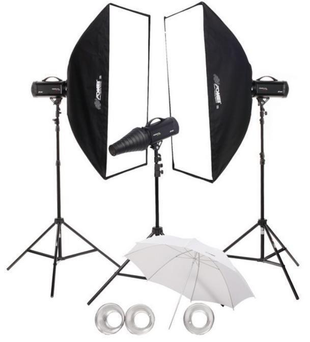 FOMEI Digital Pro X 500/500/500 kit studiových blesků