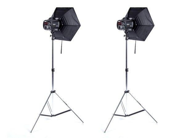 FOMEI Strobo set 2/400/400 kit akumulátorových blesků