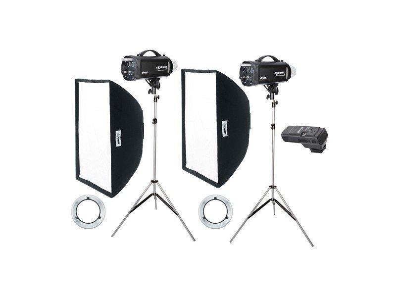 FOMEI Digitalis 600/600 kit studiových blesků
