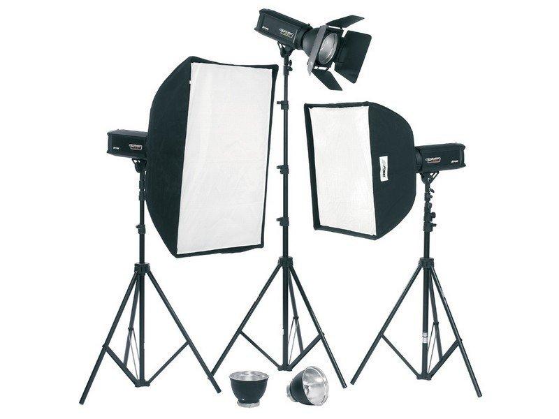 FOMEI Digitalis 400/400/200 kit studiových blesků