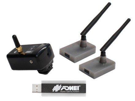 FOMEI Digital Pro X - 1 transmitter/2 receivers/1 USB Windows