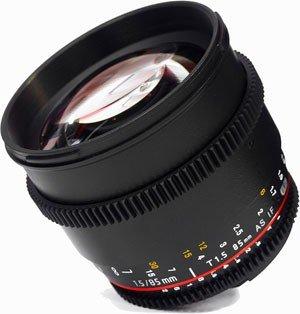 SAMYANG 85 mm T1,5 VDSLR II AS IF MC pro Samsung