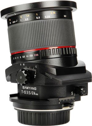 SAMYANG 24 mm f/3,5 Tilt-Shift ED AS UMC pro Samsung NX