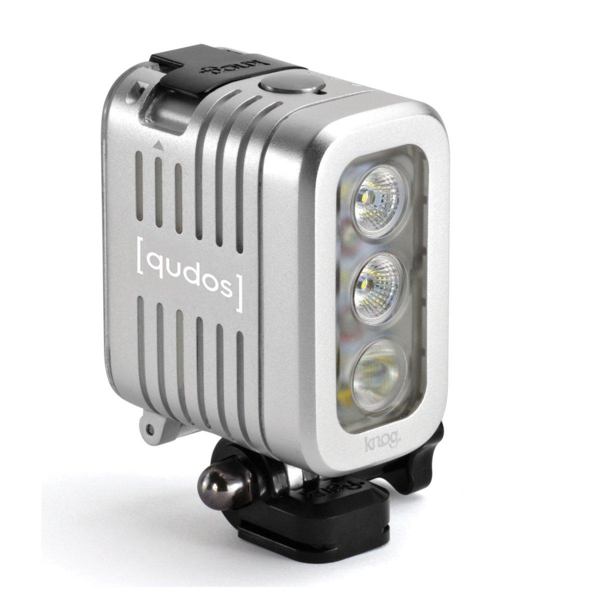 QUDOS Action Light stříbrné pro GoPro