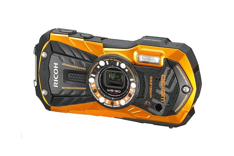 RICOH WG-30 Wi-Fi oranžový