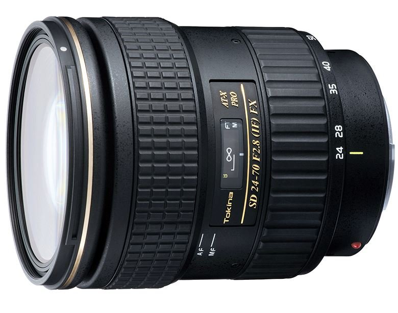 TOKINA 24-70 mm f/2,8 AT-X SD PRO IF FX pro Canon EF