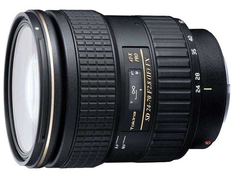 TOKINA 24-70 mm f/2,8 AT-X SD PRO IF FX pro Canon