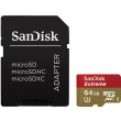 SANDISK microSDXC 64GB EXTREME 60 MB/s UHS Speed Class 3 UHS-I + Adapter