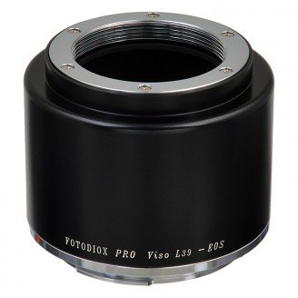 FOTODIOX adaptér objektivu Leica Visoflex M39 na tělo Canon EF