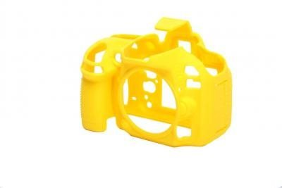 EASYCOVER silikonové pouzdro pro Nikon D810 žluté