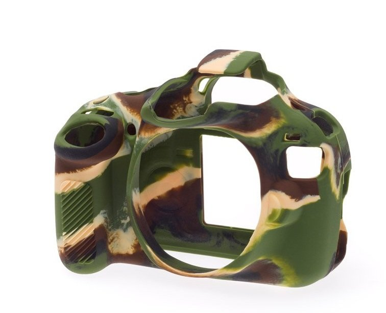 EASYCOVER silikonové pouzdro pro Nikon D810 Camouflage