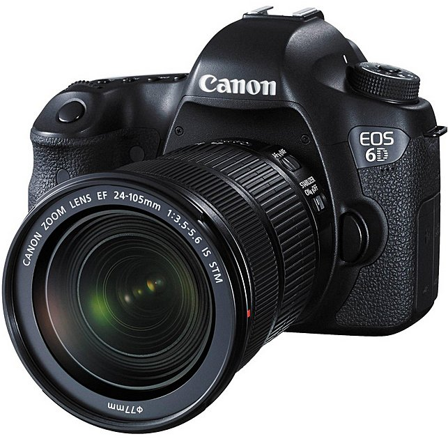 CANON EOS 6D + EF 24-105 mm IS STM + 50mm + WD 3TB