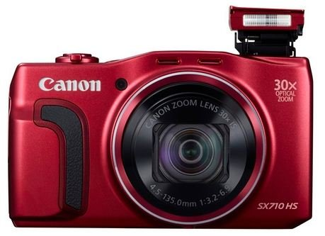 CANON PowerShot SX710 HS červený