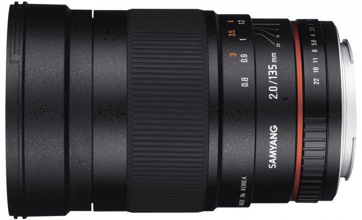 SAMYANG 135 mm f/2 ED UMC pro Sony A