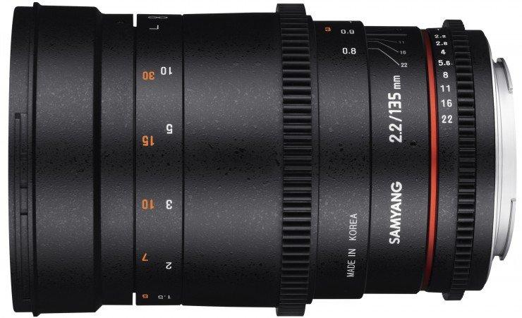 SAMYANG 135 mm T2,2 VDSLR ED UMC pro Fujifilm X