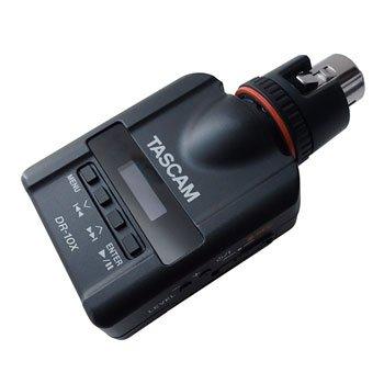TASCAM DR-10X audio rekordér pro připnutí na dynamický mikrofon a XLR kon.