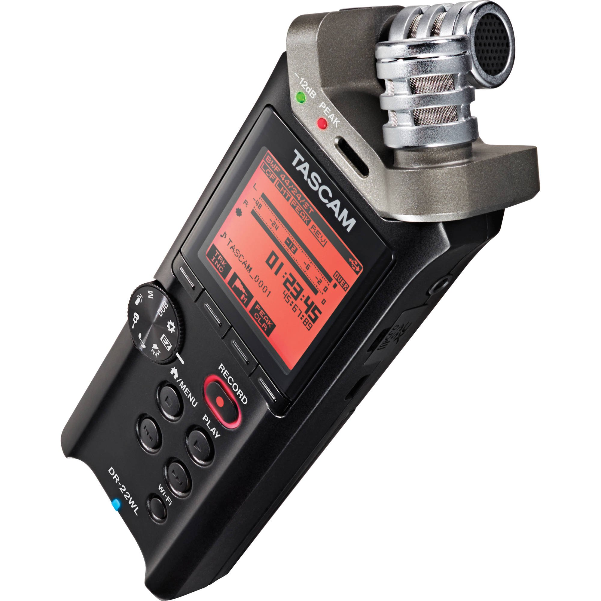 TASCAM DR-22WL ruční audio rekordér s Wi-Fi