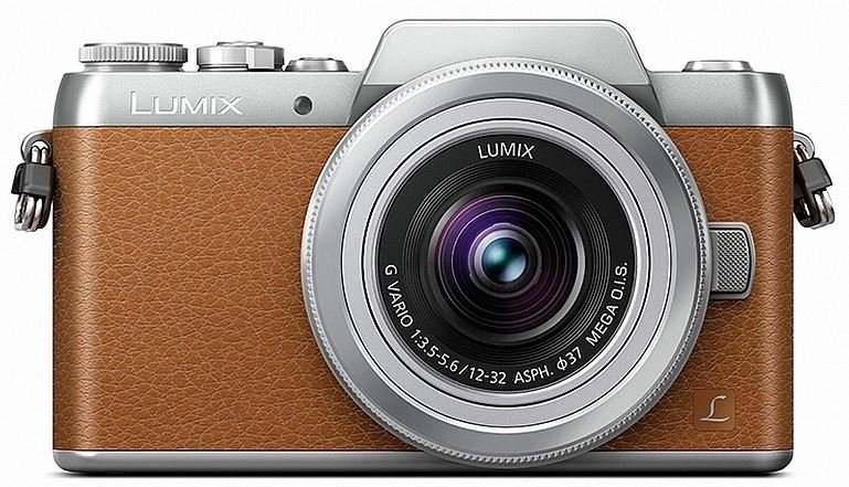 PANASONIC Lumix DMC-GF7 hnědý + 12-32 mm