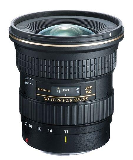 TOKINA 11-20 mm f/2,8 AT-X SD PRO IF DX pro Nikon