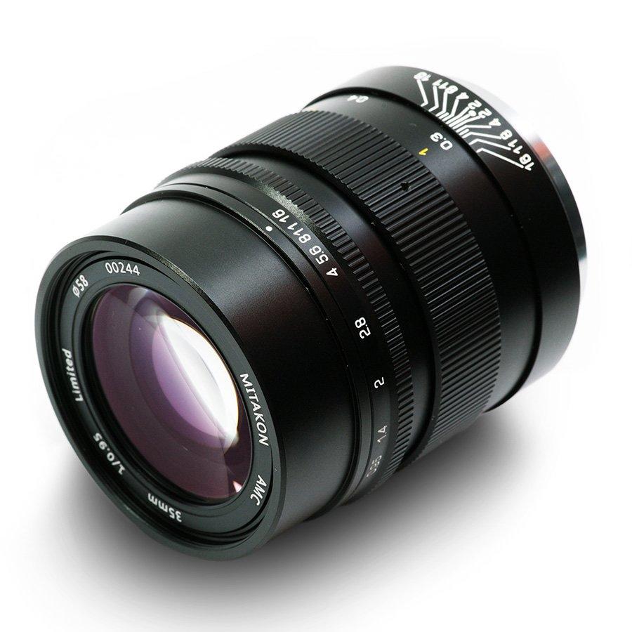 MITAKON 35 mm f/0,95 Speedmaster pro Sony E (APS-C)