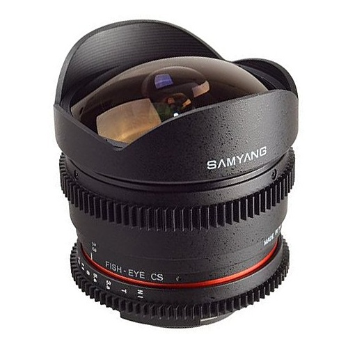 SAMYANG 8 mm T3,8 VDSLR II UMC Fish-eye CS pro Olympus/Panasonic MFT
