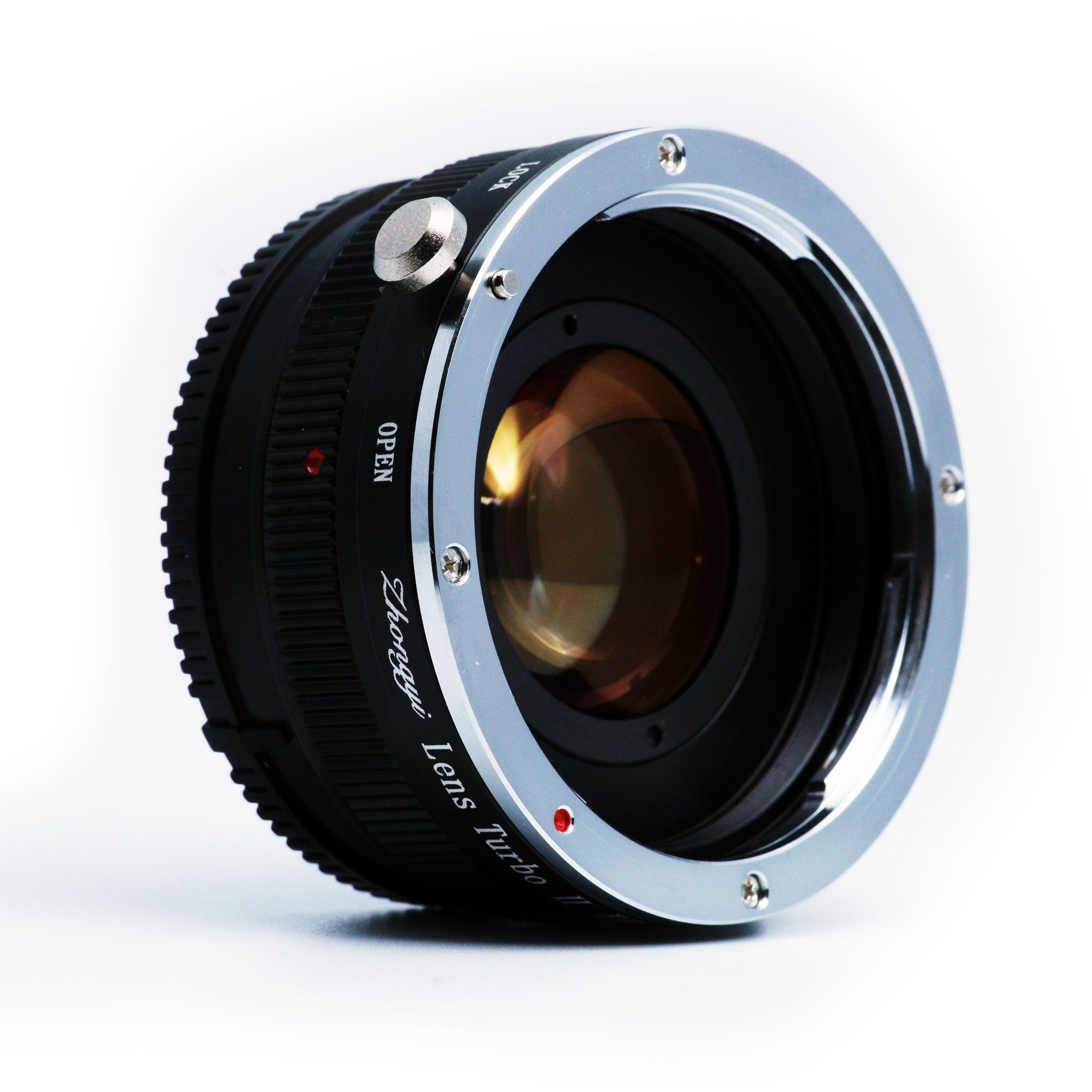MITAKON adaptér objektivu Nikon na tělo Sony NEX Lens Turbo