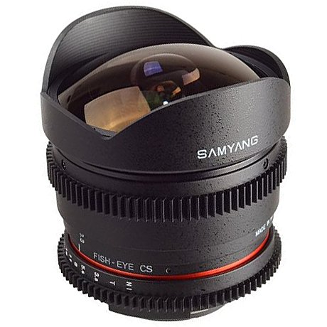 SAMYANG 8 mm T3,8 VDSLR II UMC Fish-eye CS pro Canon EOS M