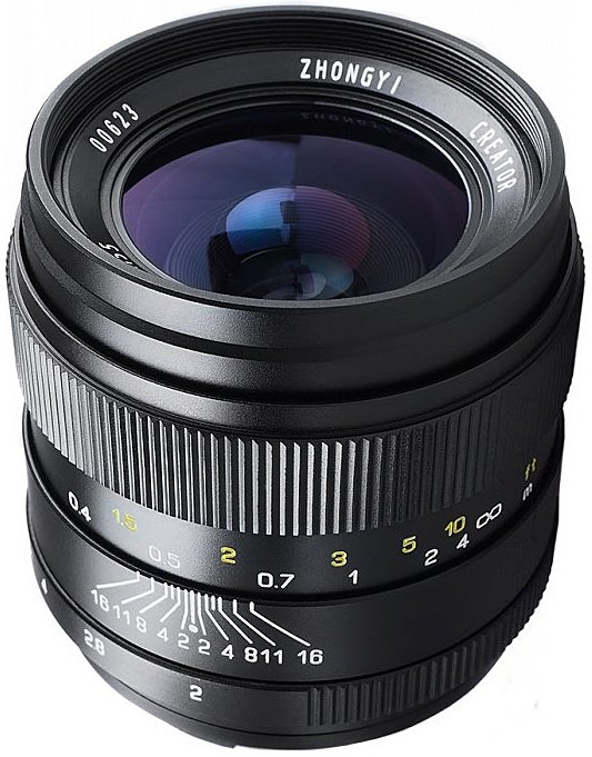 MITAKON 35 mm f/2 Creator pro Canon