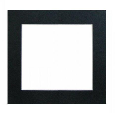 WALTHER PASPARTA 40x40/30x30, černá