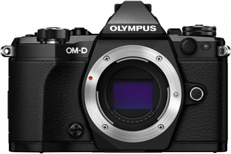 OLYMPUS E-M5 Mark II černé tělo + ZDARMA M.ZUIKO 45 f1,8