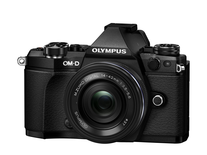 OLYMPUS E-M5 Mark II černý + 14-42 EZ černý