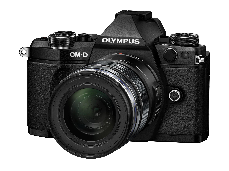 OLYMPUS E-M5 Mark II černý +12-50 černý