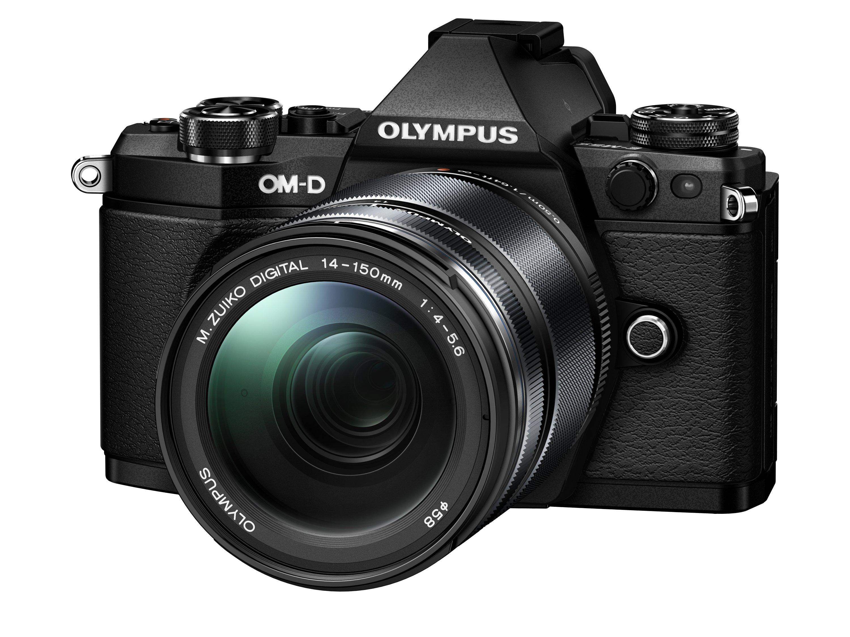 OLYMPUS E-M5 Mark II černý +14-150 II černý