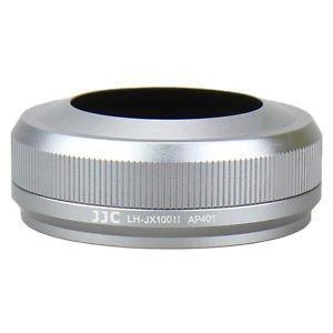 JJC sluneční clona + adaptér LN-RC49s pro Fujifilm X100/100T/100F stříbrná