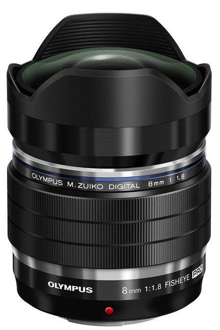 OLYMPUS M.Zuiko Digital PRO 8mm f/1,8 černý FishEye