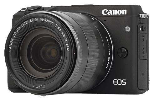 CANON EOS M3 + 18-55 mm STM + získejte zpět 1300 Kč