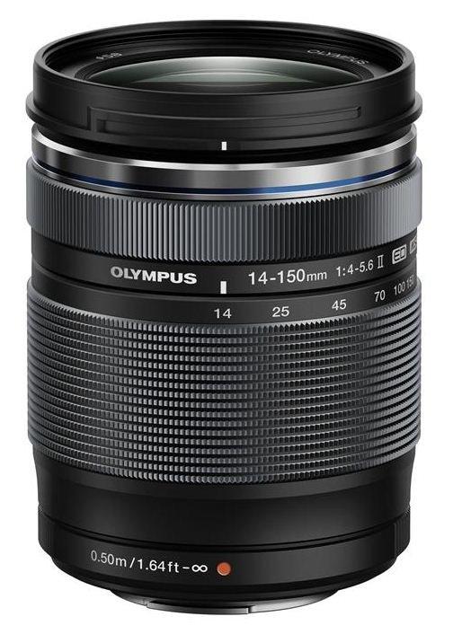 OLYMPUS M.Zuiko Digital ED 14-150/4-5,6 II černý + získejte zpět 2700 Kč