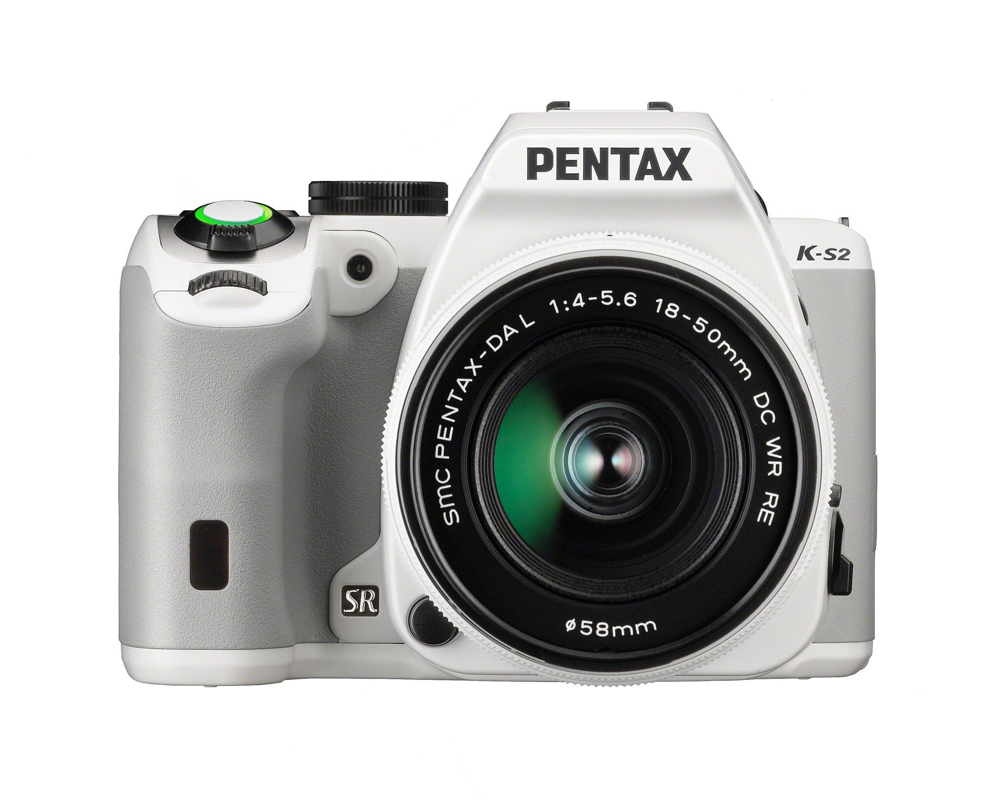 PENTAX K-S2 + 18-50 mm WR bílý