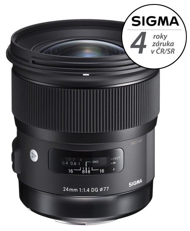 SIGMA 24 mm f/1,4 DG HSM Art pro Sigmu