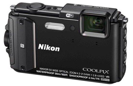 NIKON COOLPIX AW130 černý + SDHC 16 GB