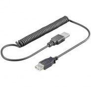 ROLINE USB kabel micro USB, A-B, kroucený 50cm až 100cm pro Samsung