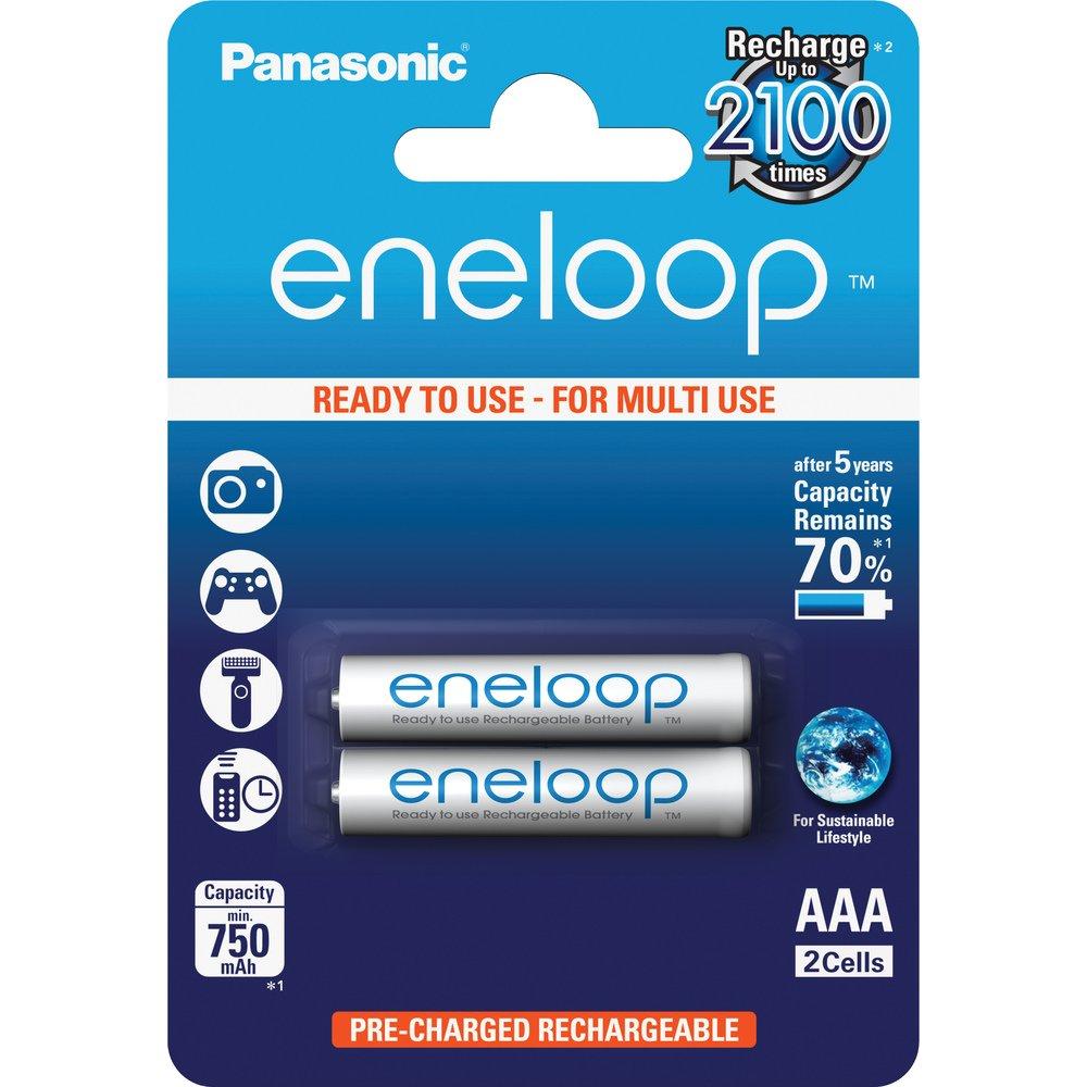 PANASONIC Eneloop AAA NiMH 750mAh / 2ks